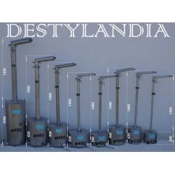 DESTYLATOR TURBO600LM/SMS/50/STANDARD